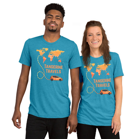 PREMIUM Map Design T-Shirt (UNISEX, 14 Color Options)