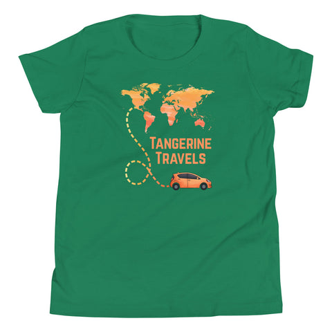 Youth World Map T-shirt (UNISEX, 10 Color Options)