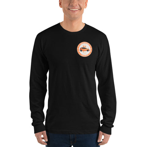 Tangerine Travels Logo Design Long Sleeve Shirt (UNISEX, 4 Color Options)