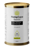 HempSapa Full Spectrum Extract Duo (CBD+CBG) oil 5% (500 mL) - 25000mg