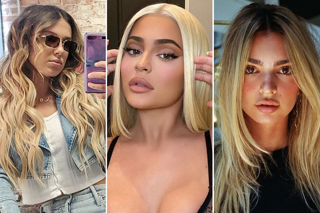 Celebrities Can't Stop Going Blonde This Summer