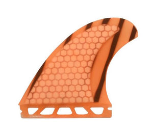 Honeycomb Fiberglass Future Quad Set Orange