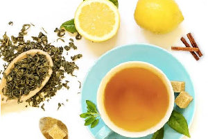 Behold the Goodness of Powderful Lemon Tulsi Green Tea