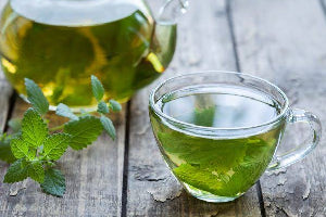 The Boons of Drinking Spearmint Green Tea