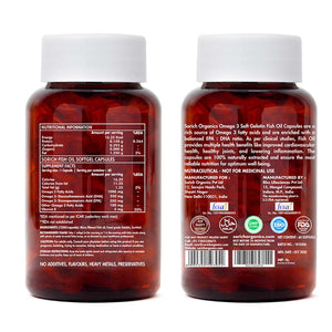 Omega-3 Fish Oil Triple Strength 1000mg- 60 Capsules