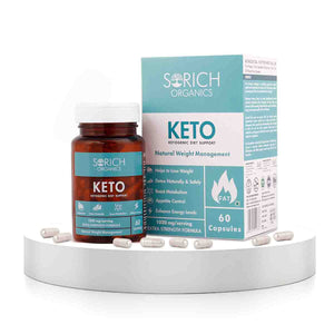 Keto Capsules for weight loss - Natural & Advanced Fat Burner Supplement - 60 capsules
