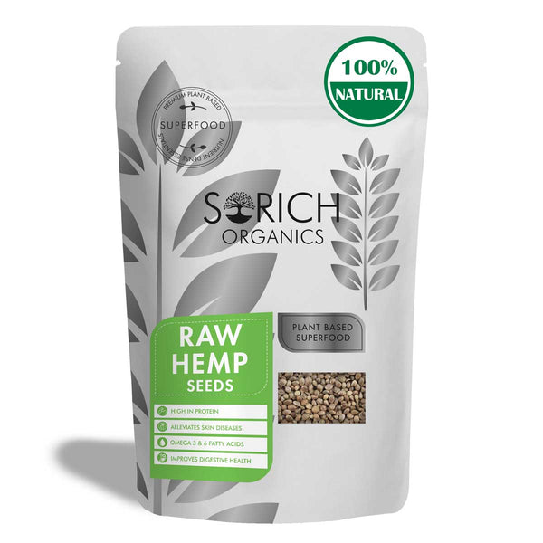 Sorich Organics Raw Hemp Seeds