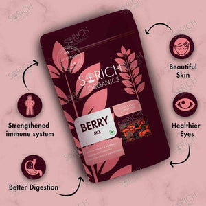 Sorich Organics Berries Mix- High in Anti-Oxidants (Dehydrated Berries)