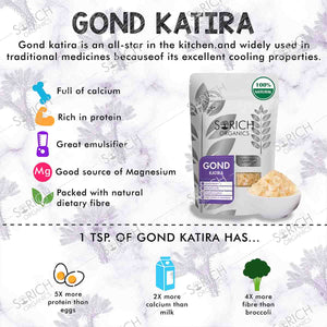 Gond Katira - Tragacanth Gum - Superfood
