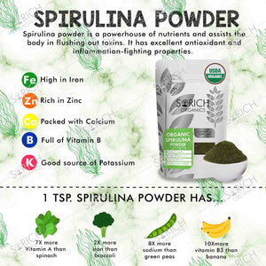 Spirulina Powder - 100 Gm