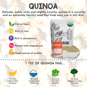 Quinoa Seeds - Protein Rich Superfood