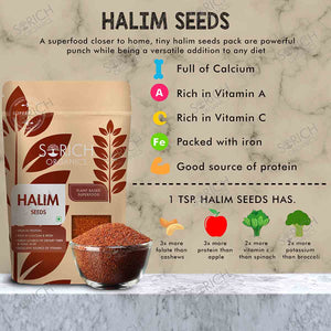Halim Seeds - 400 Gm
