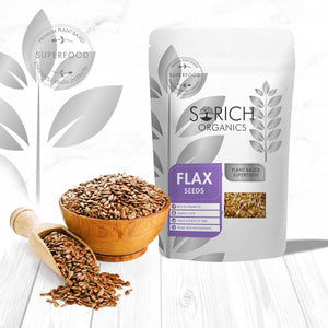 Flax Seeds - Fibre and Omega-3 Rich Superfood