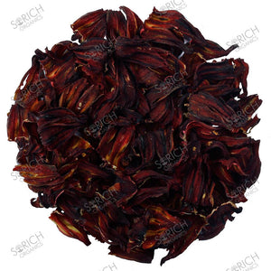 Dry Hibiscus Flower Herbal Tea - Helps in Blood Sugar and Cholesterol Issues