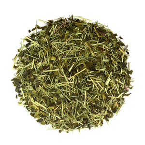organic lemongrass green tea leaves