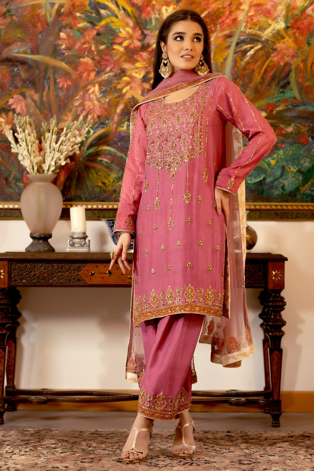 Balle Balle B (Ready To Wear - Three Piece)