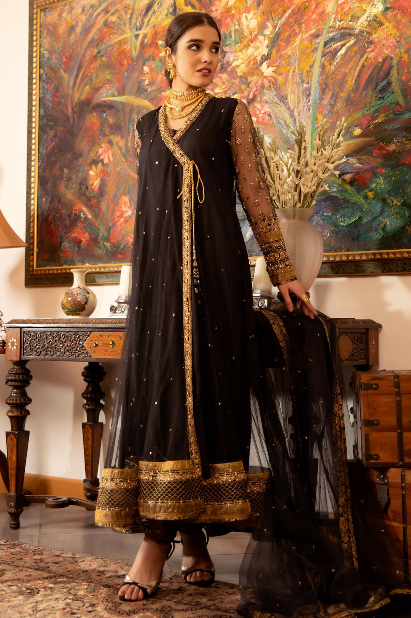 Kala Doriya (Ready To Wear - Three Piece)