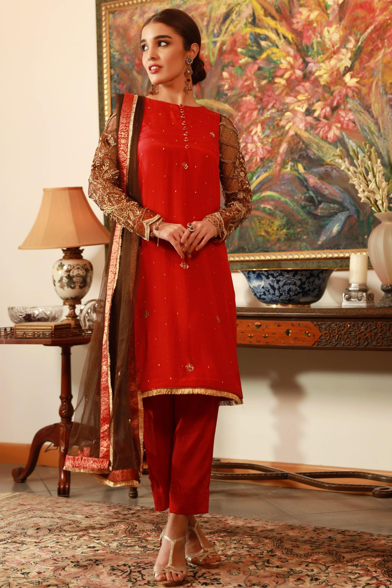 Gal Mithi Mithi (Ready To Wear - Three Piece)