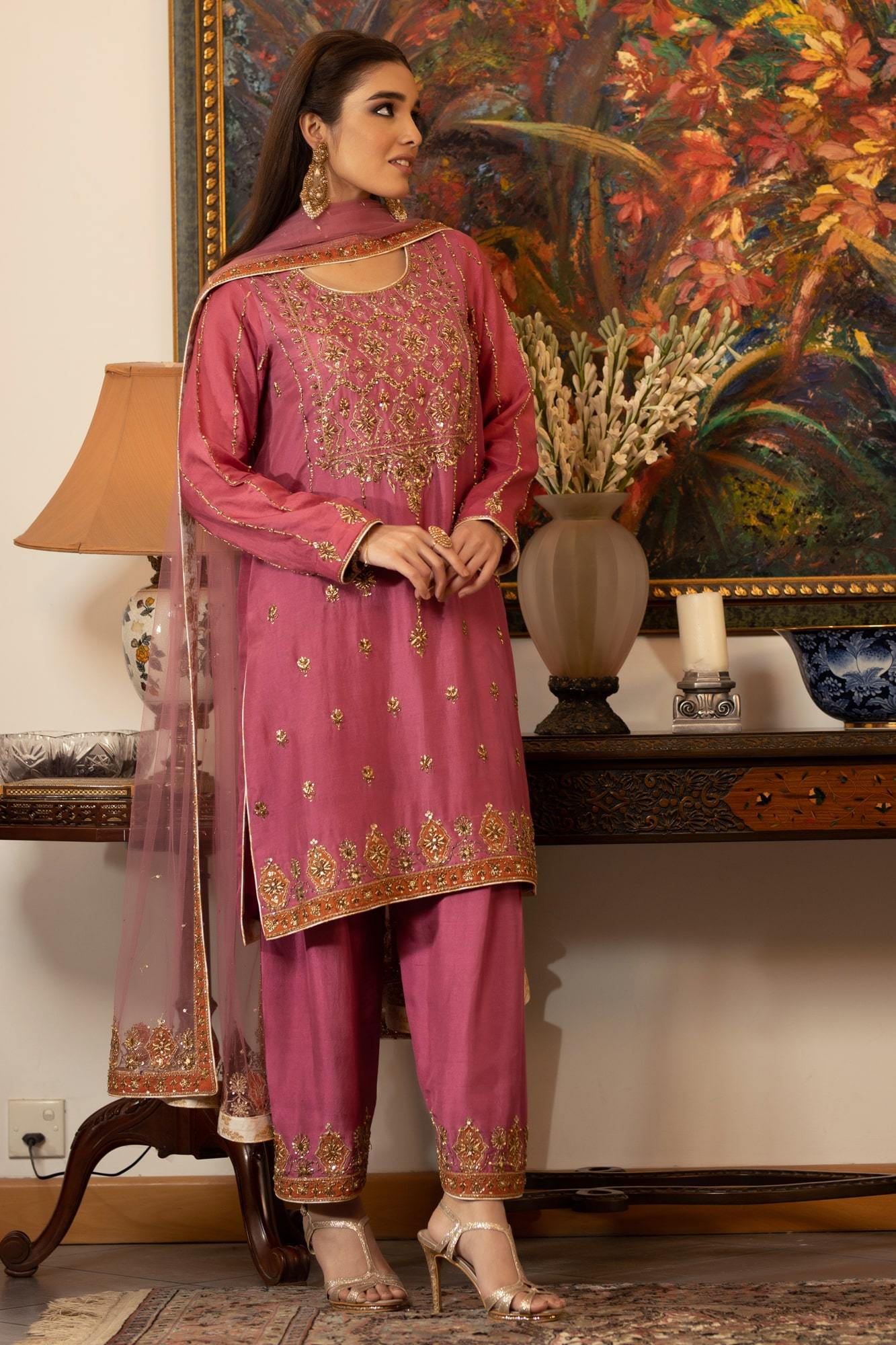 Balle Balle A (Ready To Wear - Three Piece)