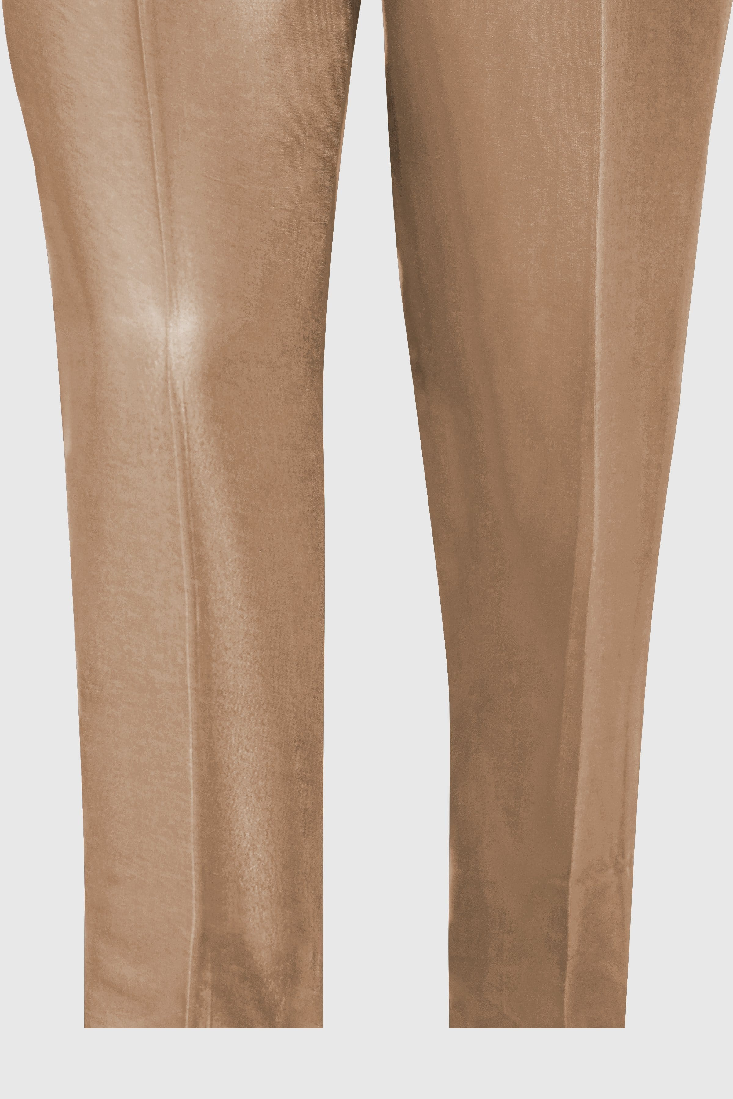Pareesa Beige Pk Raw Silk Pants