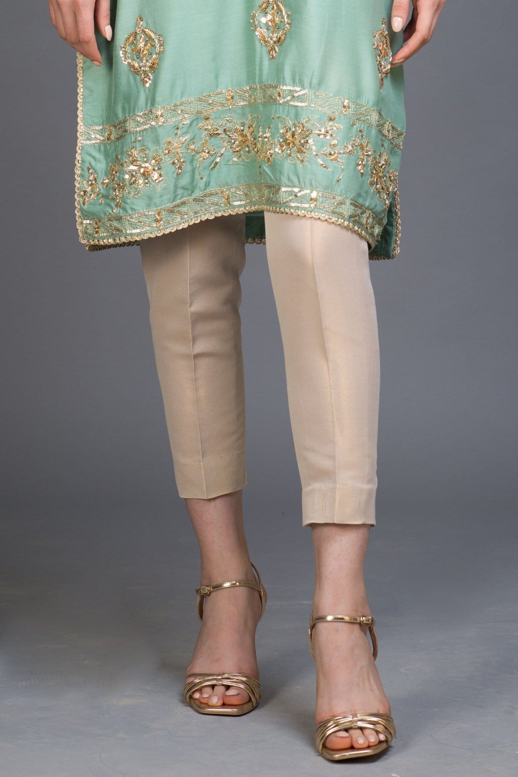 Plain Gold Maysuri Pants