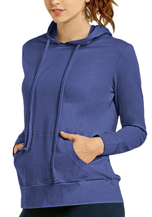 Lightweight Long Sleeve Pullover Hoodie Jacket