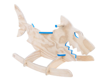 Wooden shark rocker