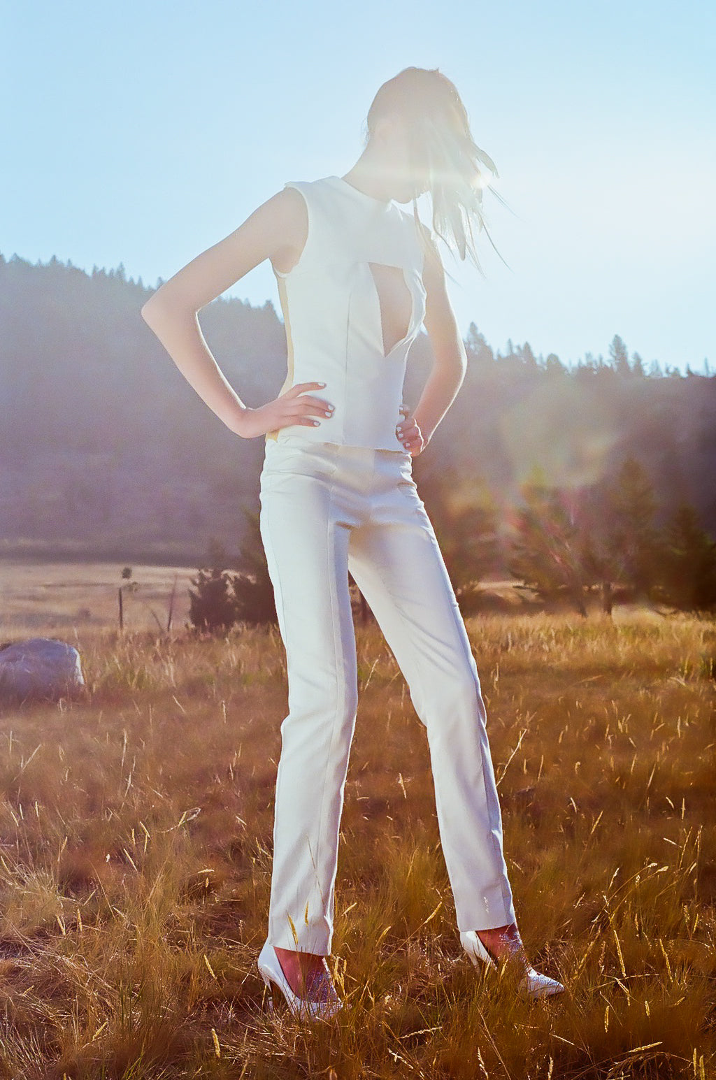 A DIY Fashion Shoot in Yellowstone National Park