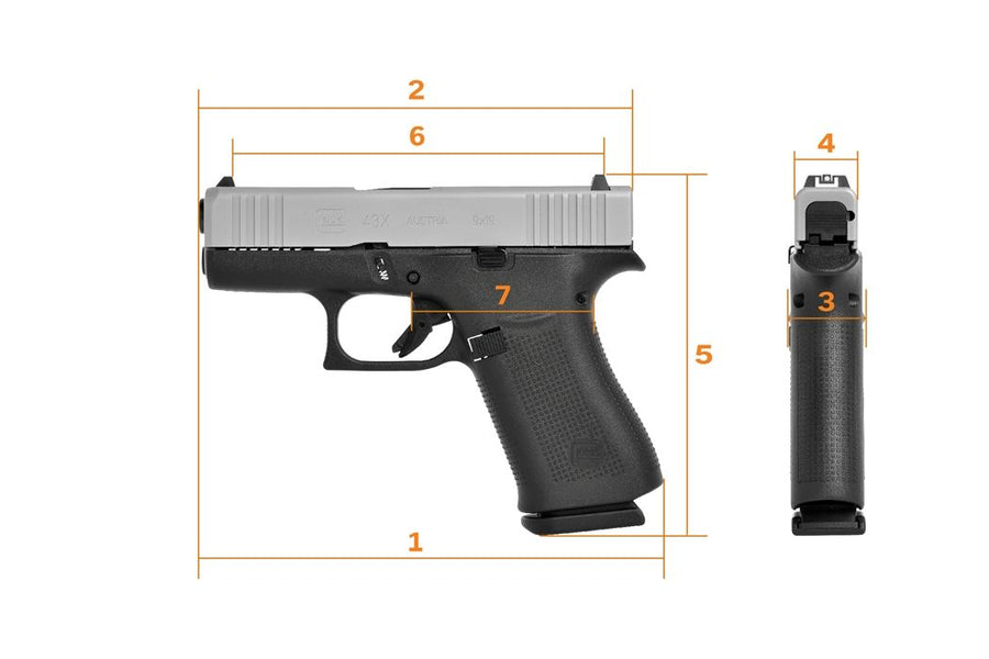 More on the Glock G43X and G48