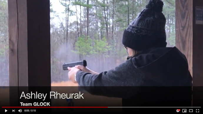 Ashley Rheuark of Team GLOCK Running the G44