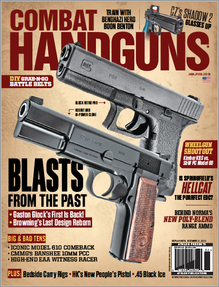 GLOCK Retro P80 in Jan./Feb. Combat Handguns