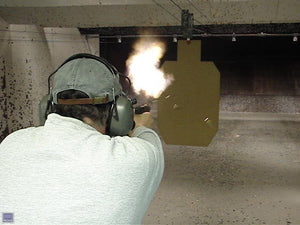 Glock 18 being fired