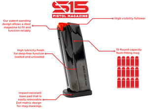Shield Arms S15 Magazine For G34X and G48