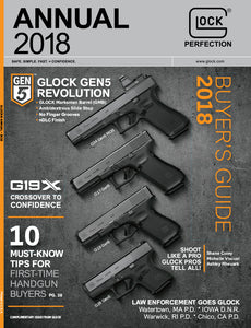 GCA Now Offers Copies of GLOCK Annual Magazines