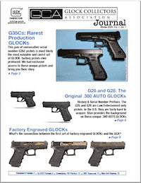 GLOCK Collectors Association 2020 Journal