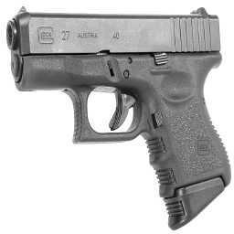 Glock 27 with Pearce grip extension