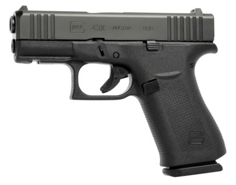 Glock 43X with rail