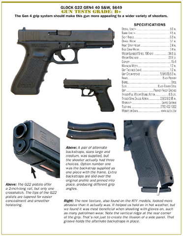 glock g22 review