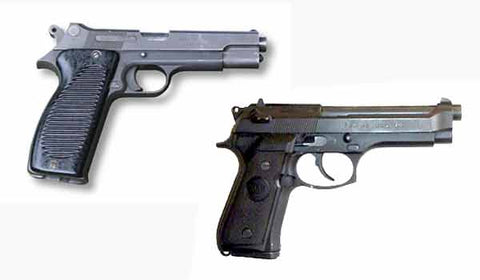 PA MAS G1 S and PA MAC50 pistols