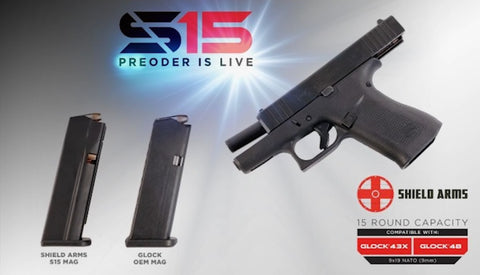 shield arms s15 glock magazine