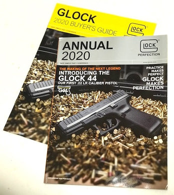 New 2020 GLOCK Annual magazine & 2020 Guyer's Guide Combo