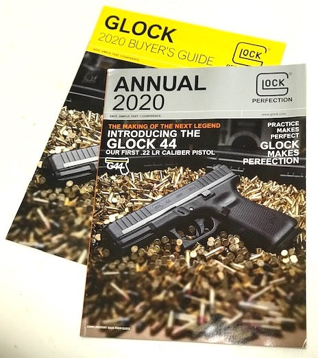 New 2020 GLOCK Annual magazine & 2020 Buyer's Guide Combo