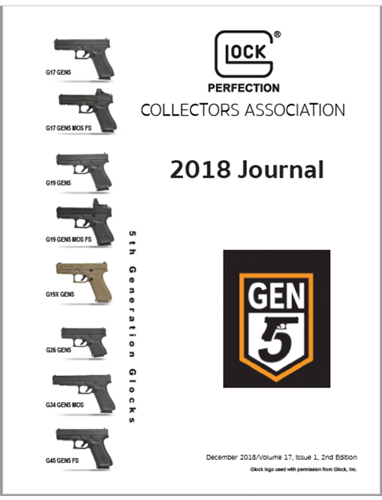 Journal of Glock Collectors Association, Winter 2018