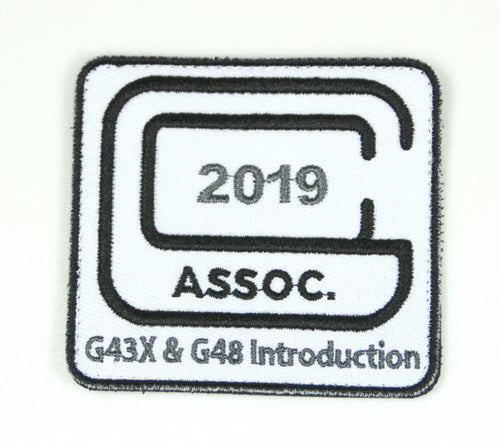 2019 Glock Collectors Association Embroidered Commemorative Patch