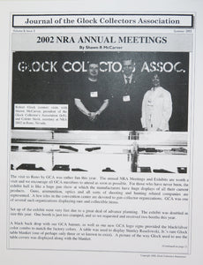 Journal of Glock Collectors Association Volume 8, Issue 3 reprint