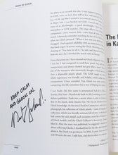 Autographed copy of Book of Glock