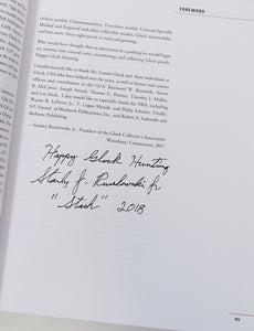 Book of Glock autographed by Glock Collectors Association President.