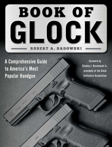 Book of Glock is the most comprehensive book on Glock pistols.