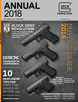 New 2018 GLOCK Annual magazine