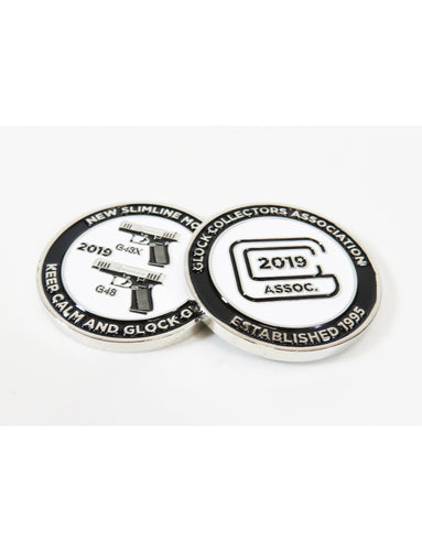 2019 glock collectors coin